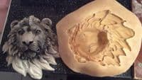 Lion Head Wall Plaque Latex Mould